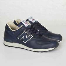 NEW BALANCE 576 - MADE IN ENGLAND Blue Men's Leather Trainers