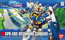 Gunpla Builders 1/144 HG #001 GPB-X80 Beginning Gundam Model Kit Bandai