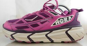 Womens Hoka ONE ONE Challenger ATR Athletic Shoes Size: 9.5 Color: Purple White
