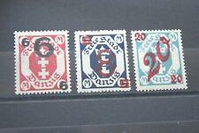 German Stamps. 1922 DANZIG SET. SUPERB UMM.