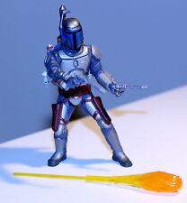 2001 Star Wars Saga AOTC JANGO FETT FINAL DUEL Action Figure w/accessories