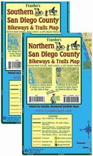 San Diego County Bikeways & Trails Waterproof Map Pack by Franko Maps