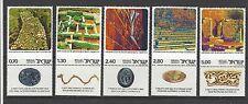 ISRAEL # 611-615 MNH,  OLD JERUSALEM EXCAVATIONS