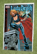 CHAOS! Lady Death: The Gauntlet (2002) #1 J Scott Campbell Variant Cover