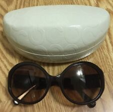 1b54a352dad8 Authentic MINT Coach S2003 Brown Womens Designer Sunglasses Shades 130 mm  w/Case