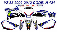 N 121 YAMAHA YZ 85 2002-2012 Autocollants Déco Graphics Stickers Decals Kits