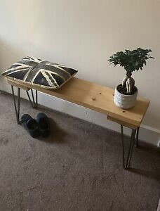 Wooden Bench | Hallway Table | Reclaimed Scaffold Board