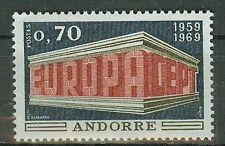 Andorra  Briefmarken 1969 Europa Mi.Nr.215 ** postfrisch