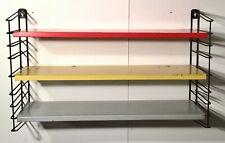 TOMADO Holland Vintage industrial design Wall Unit rack étagère gestell 3 levels
