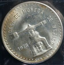 1978 Mexico Silver 1 Onza Casa De Moneda Coin