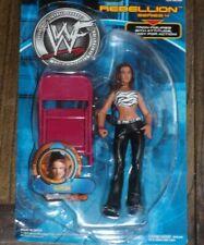WWF WWE 2001 LITA Rebellion Series #4 JAAKS Pacific With Chair