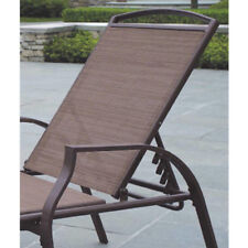 Set of 2 Chaise Lounge Chair Tan Pool Outdoor Patio Furniture New