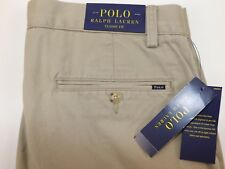NWT RALPH LAUREN Size 40x30 Men's Flat Front Hudson Tan CLASSIC FIT Chino Pant