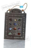 Jewish Messianic Hoshen Stone Blessing Breastplate Amulet Bible Holyland Hanging