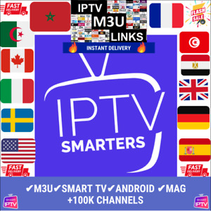 IP*TV smart pro✔️12 mois✔️SMART TV✔️MAG✔️ANDROID&PC&MAC✔️M3U✔️