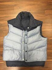 Kenny Rogers Western Wear Reversible Vintage 80'S Puffy Goose Vest Mens Large