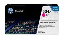 HP CE 253 a 504 a Magenta Laser Toner Cartridge Colour LaserJet Cm 3530 CP 3525