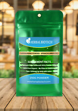 HerbalBioTech Supergreens Organic Spinach & Broccoli Powder 70g 150g 250g