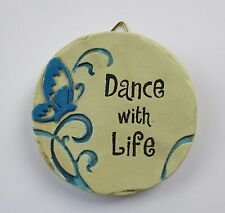 b Dance With Life Mini Plaque fairy garden stepping stone Ganz Polystone
