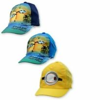Job Lot/Wholesale!! 12 Children's Minion Baseball Caps hats blue and navy blue