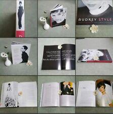 *Used*Lovely Paperback Book Audrey Hepburn ♡Audrey Style♡ By Pamela Clarke Keogh