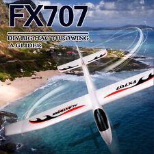 FX707S Airplane Hand Launch Glider Throwing Airplane Soft Foam Aircraft DIY C0D9