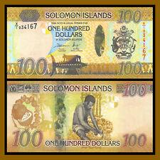 Solomon Islands 100 Dollars, 2015 P-36 Hybrid Replacement (X) Unc