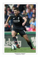 STEVEN GERRARD LAST EVER GAME CAREER STATS LIVERPOOL A4 PRINT PHOTO