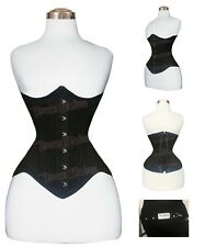 New 38 Triple Steel boned Heavy Waist Training Cotton Underbust Corset MCC19C