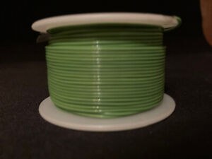 "26 GA. 19 Strand Type ""E"" Teflon Green MIL16878/4-26  200°C @ 600V 100 ft. spool"
