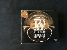 The Chicago Symphony Orchestra 3 cd Centennial Collection 100 YEARS 1881-1991