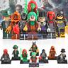 8pcs Joker Batwoman Bane Riddler Scarecrow Poison Ivy Ninjago Lego Minifigure