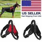 Large Dog Leash Harness Adjustable Pet Control Training Walking Collar USA