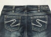 NEW Silver Jeans Women's AIKO BOOTCUT Leg Mid Rise Good Price 91105A