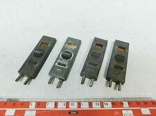 AY546-0,5# 4x Märklin/Marklin Spur 0 Anschlussklemme/Anschlussplatte