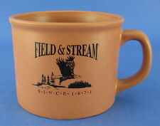 Field & Stream Coffee Mug Terracotta Terra Cotta Stoneware Eagle Trees