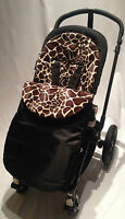 ANIMAL PRINT FOOTMUFF COMPATIBLE WITH MACLAREN TECHNO XT/XLR/QUEST/VOLO