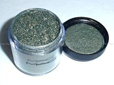 New MAC Pro PIGMENT Eyeshadow ~ NIGHT LIGHT ~ She Shines LE~ Olive w Gold ~RARE