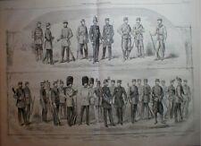 British Army Uniform 1860 San Francisco Fire Alarm Bell