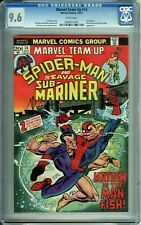 MARVEL TEAM-UP 14 CGC 9.6 WHITE PGS KANE art SPIDER-MAN SUB-MARINER Marvel 1973