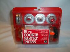 Mirro 16 Piece Cookie Pastry Press