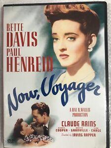 Now Voyager DVD Bette Davis Paul Henreid Claude Rains 1942 REGION 1