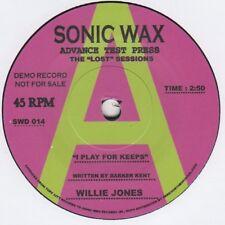 Willie Jones juego para mantiene Cera de Sonic 014 Demo Alma Northern Motown