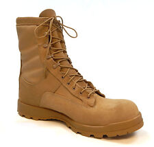 Bates E30500 Temperate Cold Weather Gore-Tex Desert Tan Boots 5W Wide NO LACES