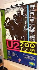 U2 - Zoo Tv Tour 1993 promo italian concerts poster - tour italiano raro 100x139