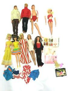 Vintage 1960s Barbie and Ken Doll Lot