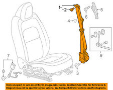 GM OEM Front-Seat Belt Assembly Left 19332642