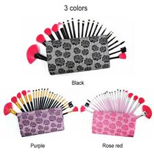 22Pcs Makeup Brush Set Powder Eyebrow Face Lip Brush Kits &  Bag Special Design