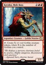 KRENKO, MOB BOSS Duel Decks: Merfolk vs. Goblins MTG Red Creature—Goblin Rare