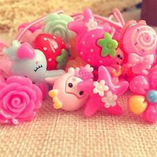 48pcs Baby Girl Kids large Hair Bands Elastic Ties Ponytail Holder Accessory&1